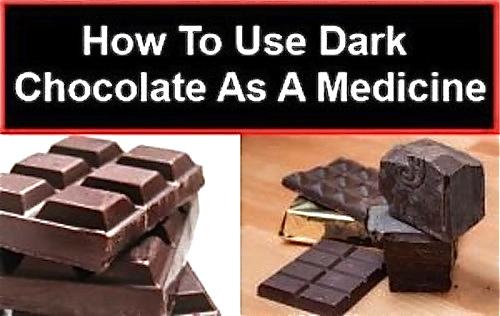 Dark Chocolate-As Medicine