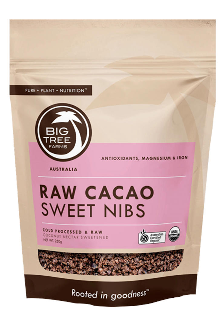 Raw Cacao Sweet Nibs