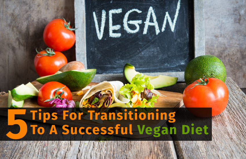 5 Tips For Transitioning To A Successful Vegan Diet