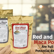 organic raw red and black maca powder